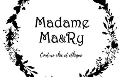 Madame Ma&Ry | La mode intemporelle et éco-responsable