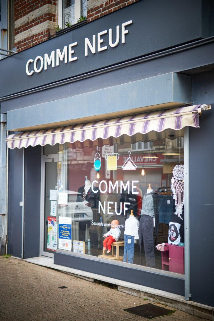 Comme Neuf, boutique de prêt-à-porter seconde main se trouve avenue de Dunkerque à Lambersart